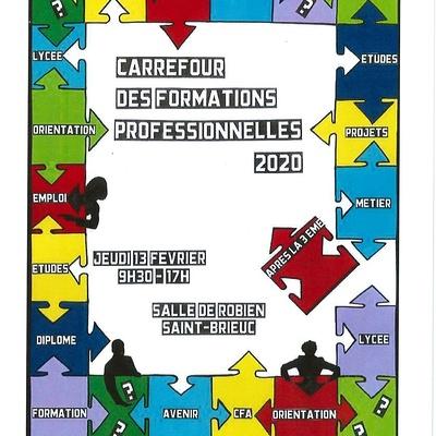 Carrefour des formations professionnelles 2020