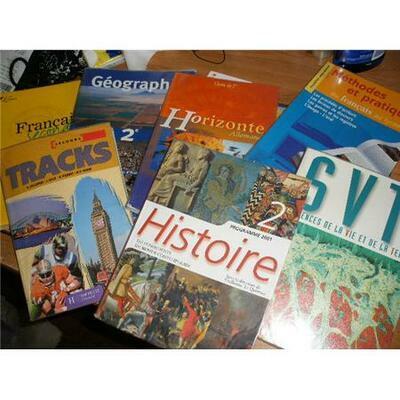 Les manuels scolaires 2019 2020